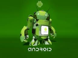 green android android wallpaper