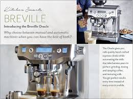 Sur La Table Coffee Makers Breville Breville Oracle Sur La Table
