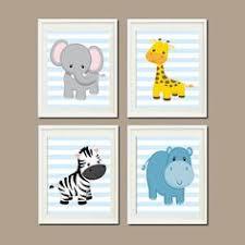Animal Wall Decor For Nursery Wall Designs Baby Wall Baby Animal Wall Baby Animal