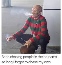Freddy Krueger Meme - know your meme freddy krueger takes a moment to reflect facebook