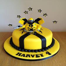 transformer cake bumblebee transformer cake
