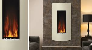 studio electric 22 wall mounted fires vertical electric fireplace uk contemporary