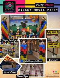 Mickey Mouse Photo Booth Mickey Mouse Theme Pix Co Photobooth