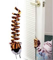 door knob spring tiger cat toy u2013 best pet products inc