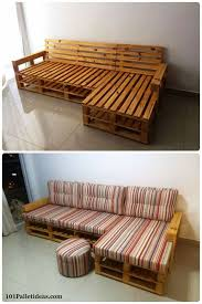 Upcycling Sofa Awesome Diy Pallet Sofas Upcycle Pinterest Pallet Sofa