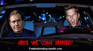 Patriots Broncos Meme - the road to glory for the patriots goes through denver road trip