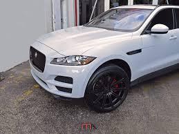 jaguar f pace blacked out jaguar f pace miami autosport technik