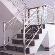 Stainless Steel Banister Rail Stainless Steel Handrail In Chennai Tamil Nadu Manufacturers