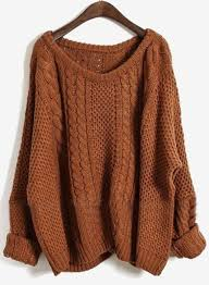 brown sweater oversized sweater for fall winter fall winter