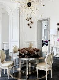 high rise kitchen table interiors lauren santo domingo s paris duplex santos interiors