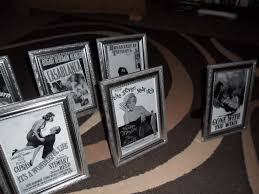 themed table numbers table numbers them in frames im getting married