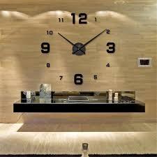 Grande Horloge Murale Carrée En Bois Vintage Achat Horloge Murale Géante Achat Vente Horloge Murale Géante Pas Cher