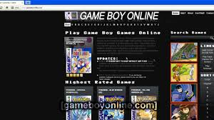 how to play gameboy color games online for free youtube