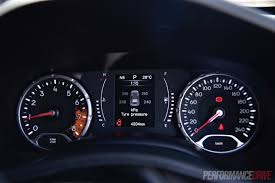 jeep dashboard 2016 jeep renegade longitude review video performancedrive
