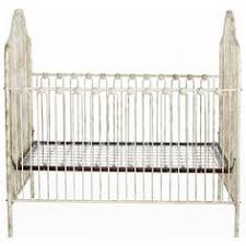 wrought iron cribs on hayneedle vintage wrought iron cribs