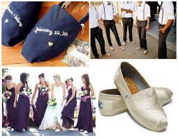 wedding shoes toms personalized eco friendly wedding toms for entire wedding party