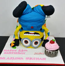 minion birthday cakes dr azlina s birthday with minions jocakes