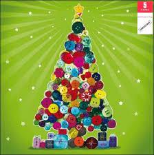pack of 5 christmas tree samaritans charity christmas cards