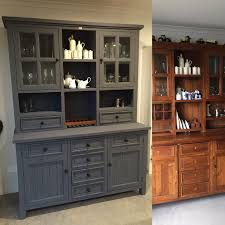 Before And After Pictures Of Painted Kitchen Cabinets 25 Best Painted Hutch Ideas On Pinterest Hutch Makeover
