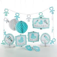 baby boy welcome home decorations baby shower decorating kit boy sublime wedding shop