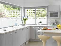 kitchen interior brown wooden curved kitchen cabinet light brown