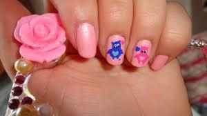 cute polish nail art design love owls youtube