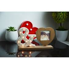 what to buy for s day aliexpress buy white wood alphabet lights decorated interior