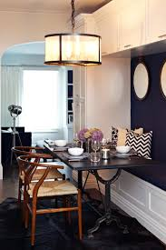 best small space 2014 hgtv transitional dining area with built in