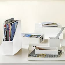 Desk Organizer Sets Lacquer Office Accessories West Elm