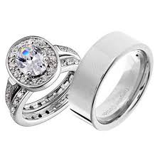 His And Hers Wedding Ring Sets by Wedding Rings Sets His And Hers Promise Symbol