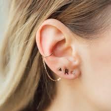 ear cuff ear cuff ella in 18 kt gold inspiring