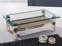 glass living room table combine choosing model glass living room