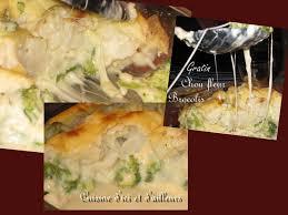 cuisine brocolis gratin de chou fleur et brocolis cuisine plurielles fr