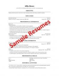 How To Make A Good Resume For Students Engineering Student Resume Berathen Com