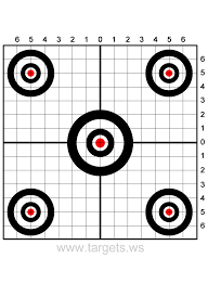 printable shooting targets bullseye targets print your own sight in shooting targets