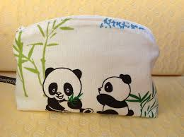 trousse de sac trousse de toilette enfant fille ou garçon trousse panda