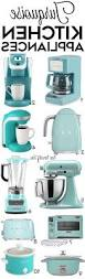 Turquoise Kitchen Decor by Beautiful Turquoise Small Kitchen Appliances