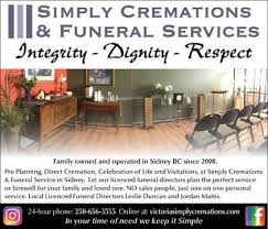 simply cremations funeral services gallery simply cremations