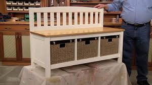 Mudroom Storage Bench Mudroom Storage Bench Woodsmith Plans