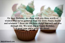 Happy Birthday Wisdom Wishes On Your Birthday We Share With Birthday Wishes For Daughter