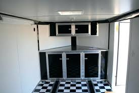 race car trailer cabinets wonderful enclosed trailer cabinet v nose trailer cabinets unique