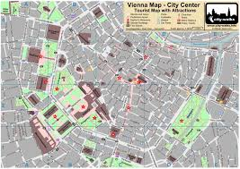 map of vienna printable map of vienna