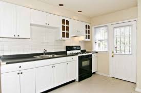 kitchen colors with white cabinets and stainless appliances white
