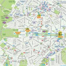 touristic map of maps of delhi