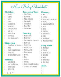 baby needs baby checklist free printable baby checklist babies and pregnancy