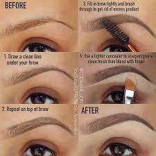Proper Way To Fill In Eyebrows   this technique is amazing for filling in eyebrows beauty eyebrows