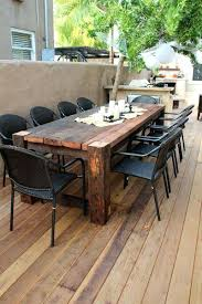 reclaimed wood outdoor table wood garden table attractive wooden outdoor table best wood outdoor