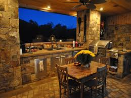 outdoor patio designs with fire pit outdoor kitchen with