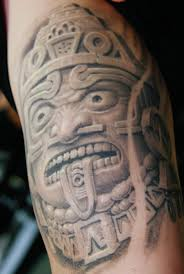 Mexican Flag Tattoos Mexican Aztec Latin Tattoo Pictures To Pin On Pinterest Tattooskid
