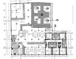 star hotel bar restaurant 2d dwg plan for autocad u2022 designscad